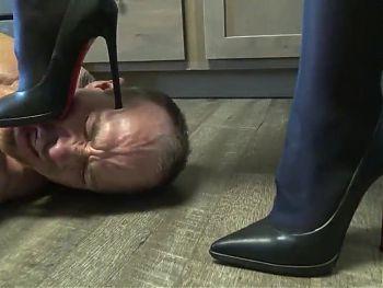 Foot Shoe Torture Ballbusting