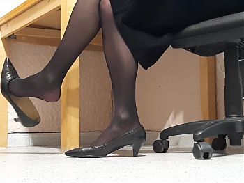 Dangling in Nylon Heels