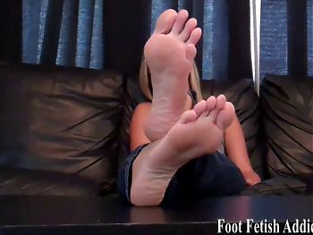 You will worship my feet or face a harsh punishment