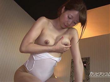 Asahi Sakai :: Hot Sex In Sweat 1 - CARIBBEANCOM