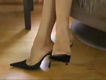 Visit After Business Hours - Sexy shoes dangle