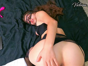 POV Doggy Fuck with my Stepsister and Massive Cumshot on her Face