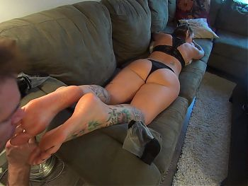 Sock Showcase - Vol 4: Lacy Nylons and Booty! HD PREVIEW