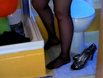 Big Girl in Black Stockings